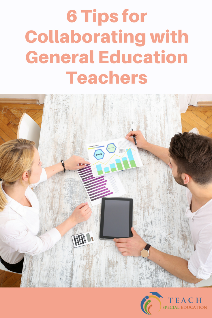 6 Tips for Collaborating with General Education Teachers